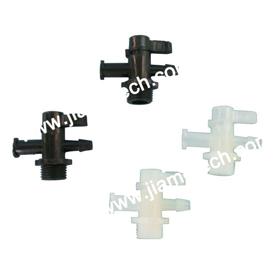 Manual Two-Way/Three-Way Valve (Plastic)